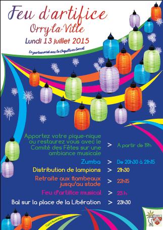 affiche 13 juillet 2015